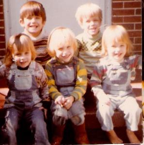 Shannon, Ivy, Jenni, Jack, and Seth