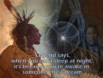 INdian poster awake in someone elses dream